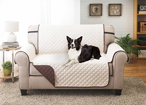 Deluxe Reversible Loveseat Slipcover Furniture Protector