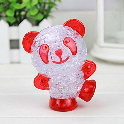 [3D Crystal Puzzle Jigsaw Model Diy Panda Funny Children Intellectual Toy Gif] (Codename Kids Next Door Number 3 Costume)
