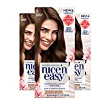 Clairol Nice'n Easy Permanent Hair Color, 5 Medium Brown, 3 Count