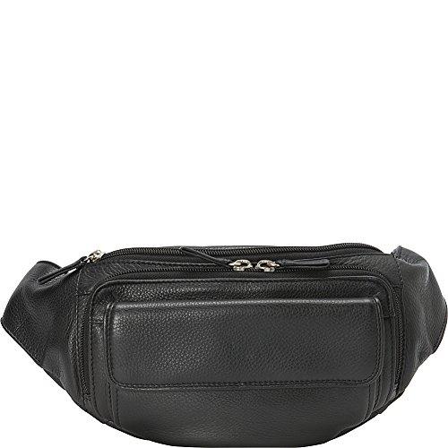 Derek Alexander Waist Bag, Black, One Size by Derek Alexander Leather
