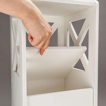 Mueble de baño, muebles de baño impermeables Hiseea, 80 x 20 x 18 cm, blanco: Amazon.es: Juguetes y juegos