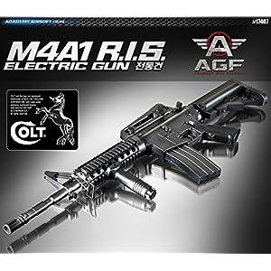 Academy M4A1 R.I.S. AUTOMATIC ELECTRIC Gun BB Gun #17407 by K-Crew