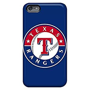 Durable phone carrying case cover Hot New High iphone 6 plus 5.5 /6 plus 5.5s - baseball texas rangers 1