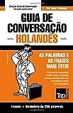 capa de Guia de Conversação Portuguès-Holandès E Mini Dicionário 250 Palavras