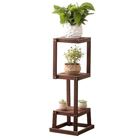 Puesto de plantas Vertical soporte de flor marco de madera planta ...
