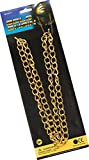 Adult Fancy Party Dress Accessory Gangster Jewellery Gold Chain Necklace 100cm