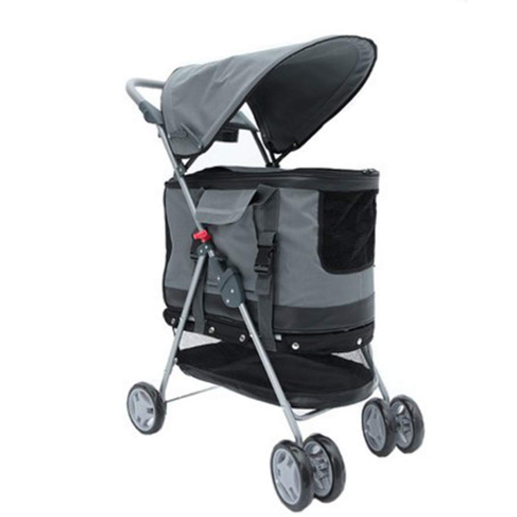 City Walk N Stride 4 Wheel Pet Stroller for Dogs and Cats