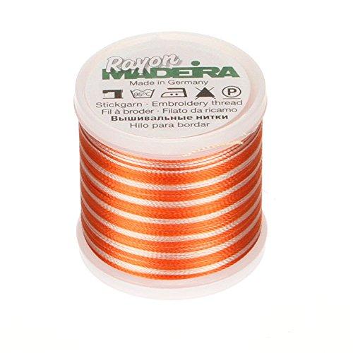 Madeira Rayon Thread Size 40 200 Meters-Rusty Peach Ombre (並行輸入品) B001K54K6Y