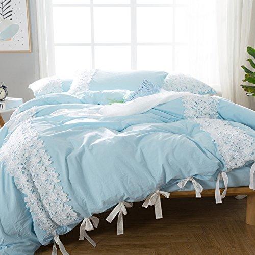 7-Pc Riya Diamond Meander Greek Key Pleated Comforter Set Navy White Gray Queen