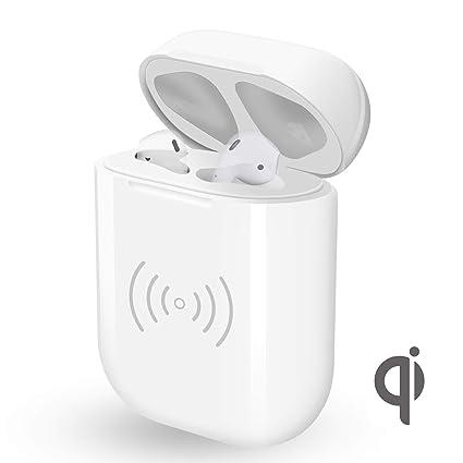 El cargador para Airpods, Vou Tiger Estuche de Cargador inalámbrico Reemplazo para Auriculares Apple,