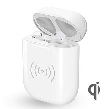 El cargador para Airpods, Vou Tiger Estuche de Cargador inalámbrico Reemplazo para Auriculares Apple, Estación de Carga [Charging Case / Funda]: Amazon.es: ...