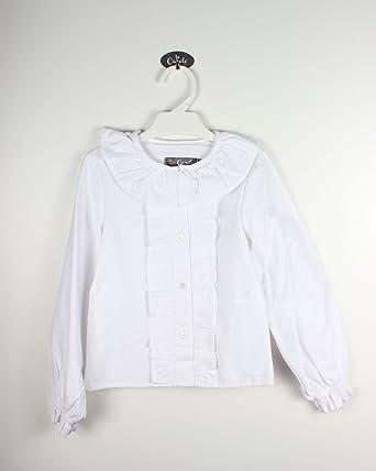 Camisa Cuello Volantes, CHORRERA, Mangas: Amazon.es: Ropa