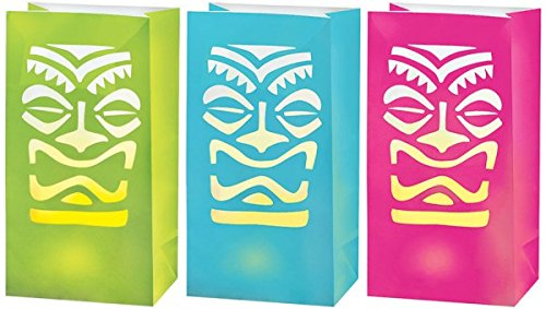 Amscan Tiki Party LED Luminaries, 11