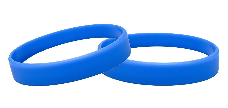 J& R 10, Silikon Armbänder, Händen Gummi Armbänder, Partyzubehör Silikon Armbänder Partyzubehör (Magenta)