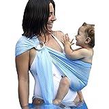 Ring Sling Mesh Baby Wrap Carrier for Newborn Toddler...