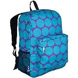 Wildkin Big Dots Crackerjack Backpack, Aqua