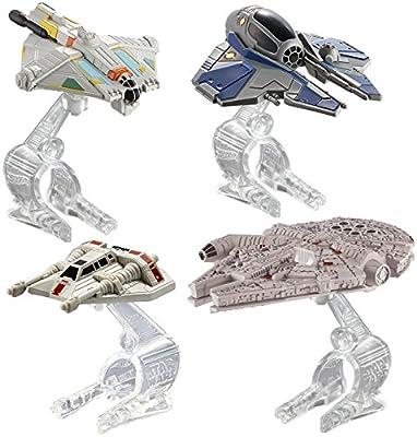 Hot Wheels Star Wars Hero Starship 4-Pack