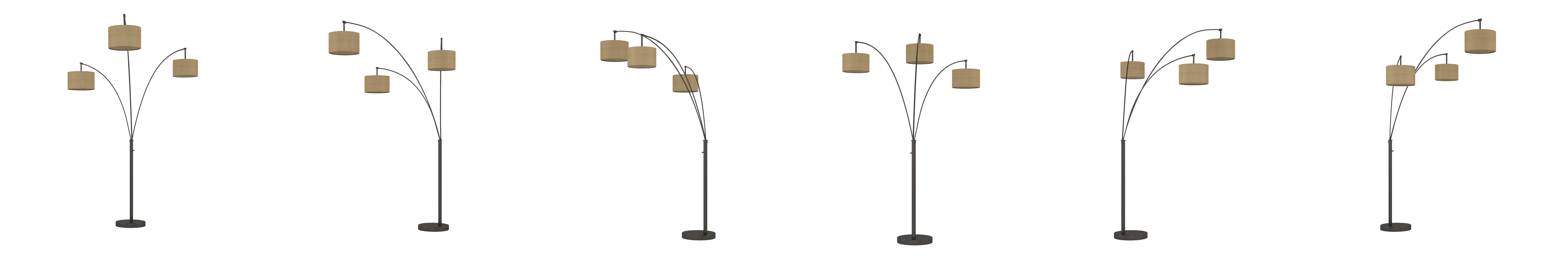 Amazon Com Artiva Usa Led602108fbz Lumiere Modern Arch Floor Lamp With Dimmer 80 Antique Bronze Home Improvement