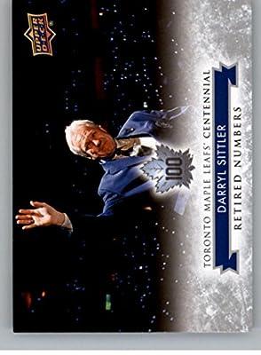 2017-18 Upper Deck Toronto Maple Leafs Centennial #133 Darryl Sittler NM-MT SP Maple Leafs
