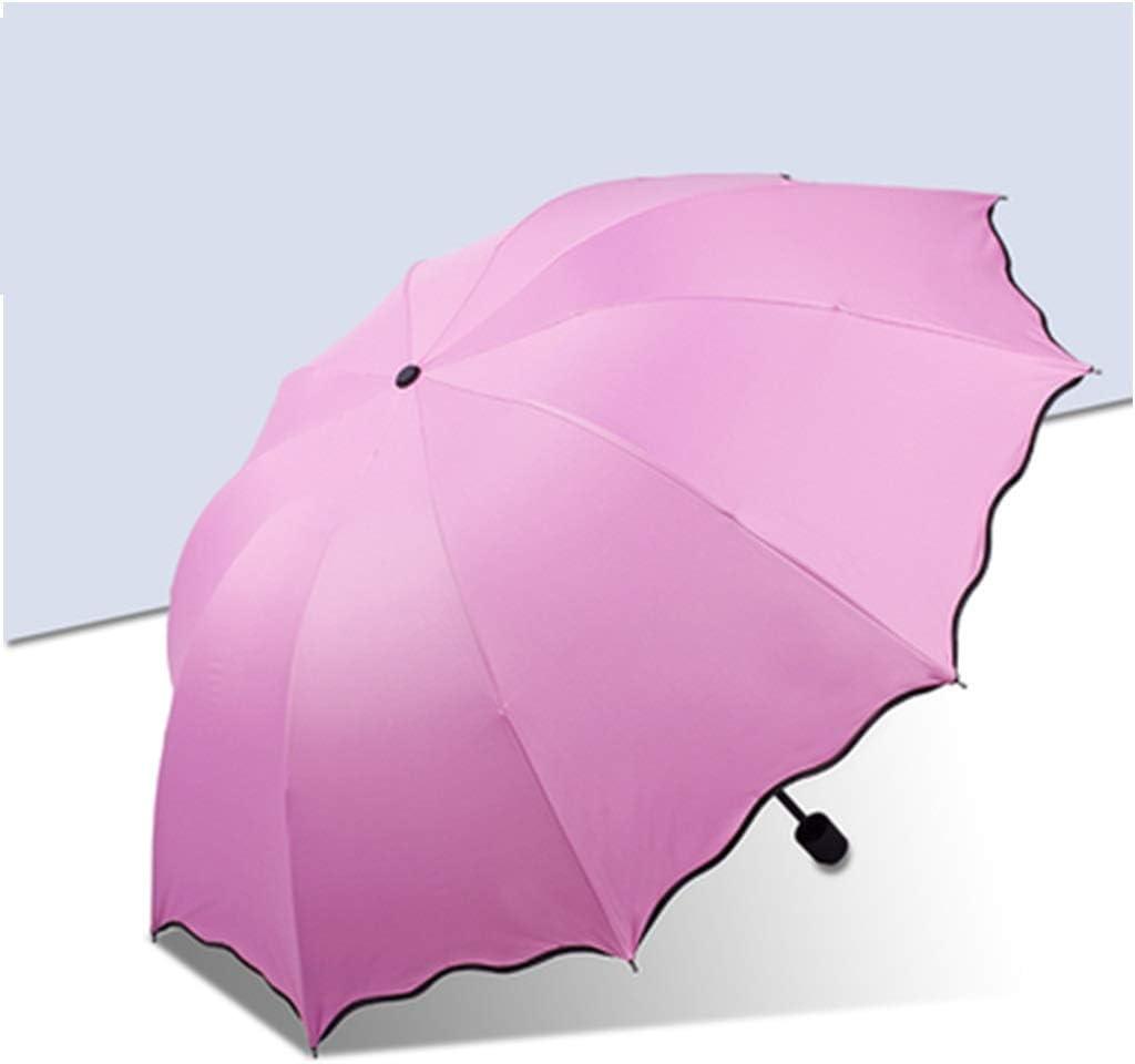 ZFDM Paraguas publicitario Paraguas Personalizado Logotipo Personalizado Impreso Regalo Mango Largo Paraguas Plegable Impresión Sombrilla Sombrilla Comercial Publicidad (Color : 4)
