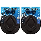 2 x Total Blues Soul Band Gangster Hats & Glasses Fancy Dress Costume Accessory