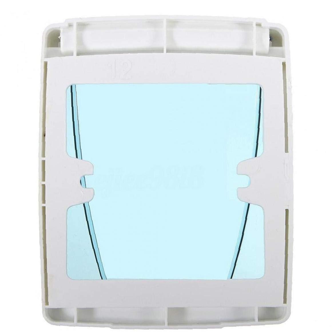 Lankater Impermeable 86 Tipo de Enchufe de Pared del Panel Placa del Interruptor Universal de la Caja de la Cubierta del Protector Azul