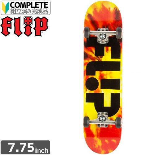 考案するかすかな和らげるFLIP フリップ FLIP スケボー コンプリート TEAM HKD BLACK COMPLETE7.5 x 31.25 NO10