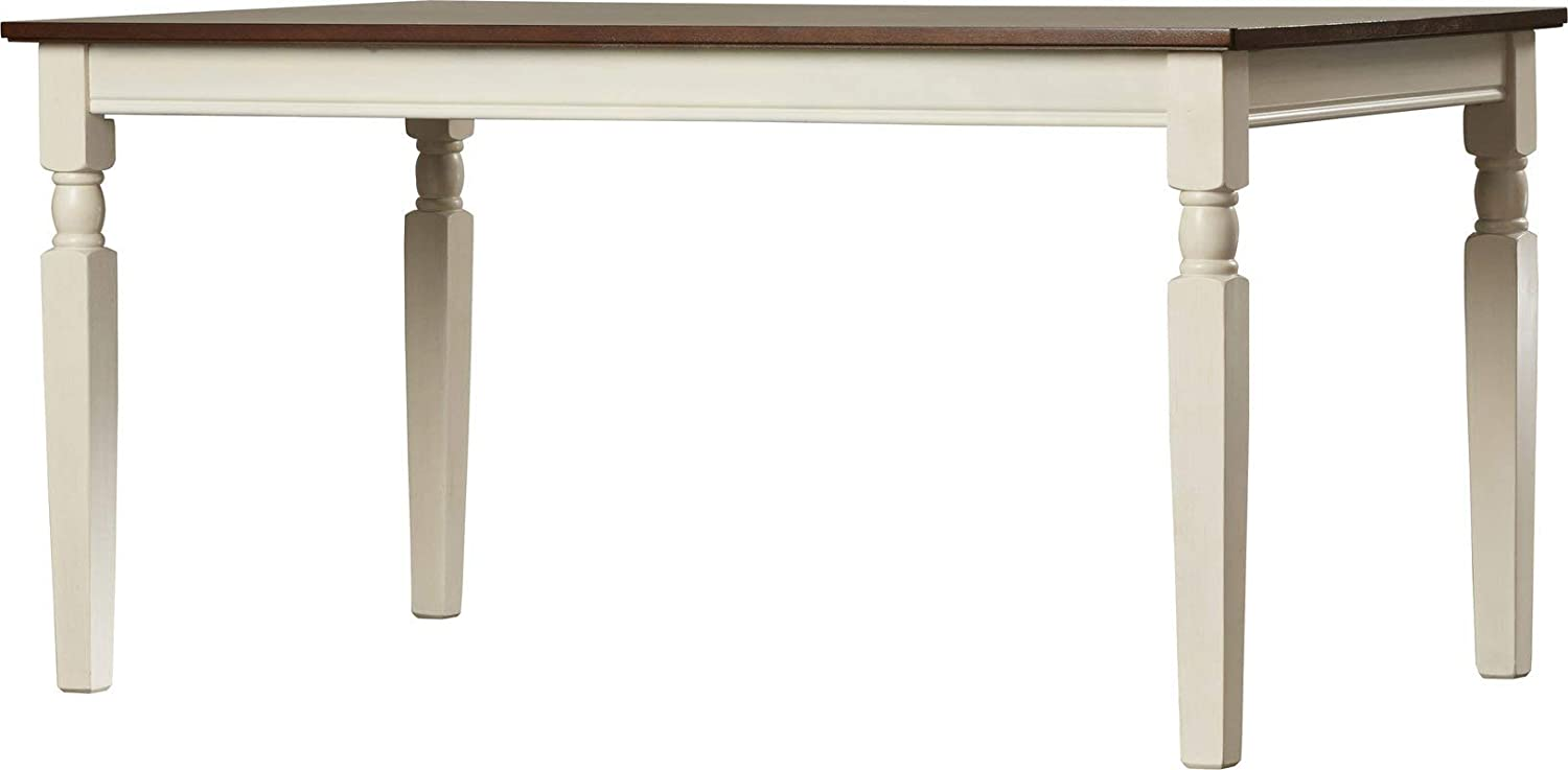 Wood Dining Table - Dining Table - Cottage White