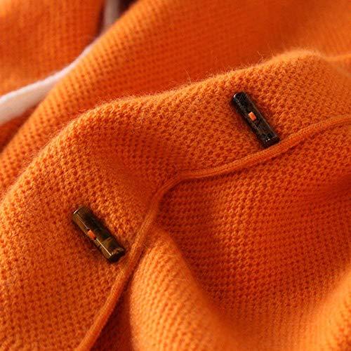 Grazioso Outerwear Stlie Di Giacca Giaccone Eleganti Moda Casual Comodo Chiusura Lunga Donna Cappotto Manica Autunno Fit Con Giovane Cachemire Bottoni Schwarz Primaverile Slim qqw8ARS