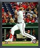 "Bryce Harper Washington Nationals 2017 Action Photo (Size: 12"" x 15"") Framed"