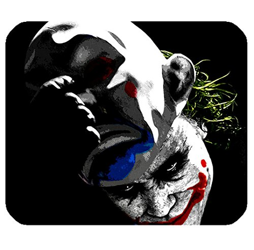 Classical Clown Pattern Image for Rectangle Mouse Pad Mat Cloth Cover Non-slip Backing