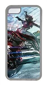 iPhone 5c case, Cute Pursuit iPhone 5c Cover, iPhone 5c Cases, Soft Clear iPhone 5c Covers