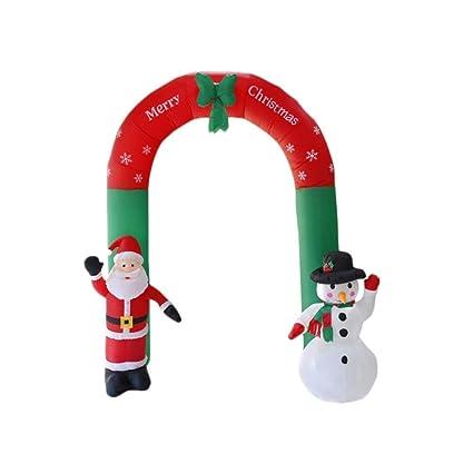 Amazon.com: Minions Boutique - Adorno hinchable de Navidad ...