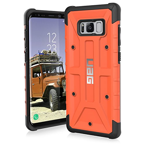 UAG Samsung Galaxy S8+ [6.2-inch screen] Pathfinder Feather-Light Rugged [RUST] Military Drop Tested Phone ()