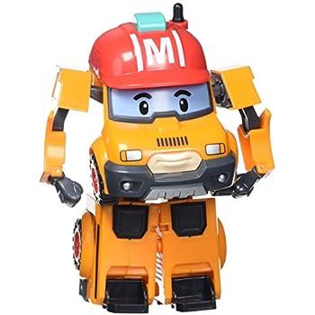 Robocar poli 83307 vehicle transformable mark orange toys games - Robocar poli ambre ...
