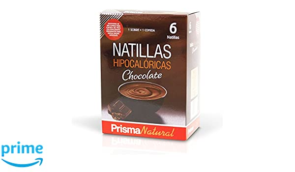 Prisma Natural Natillas Chocolate - 6 Unidades: Amazon.es: Salud y cuidado personal