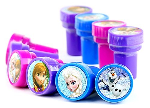 Disney Frozen Self-Inking stamps / Stampers Party Favors (10 Counts)