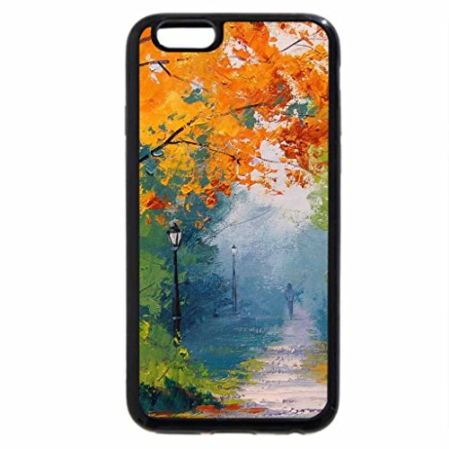 iPhone 6S / iPhone 6 Case (Black) Autumn painting Unknown author