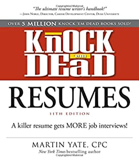 Knock 'em Dead Job Interview: How to Turn Job Interviews Into Job ...