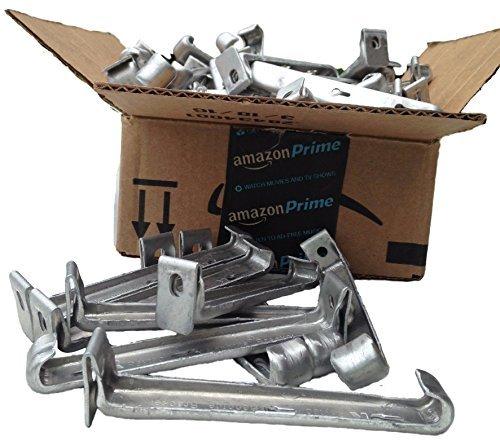 5 inch Raytec Hangtite hidden gutter hanger (100 pack) ()