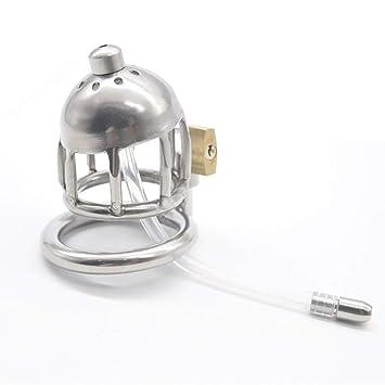 Cinturón de castidad Bloqueo de jaula estimulante Material de ...