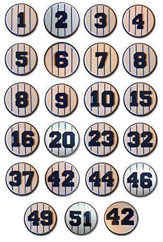 yankee retired numbers - 1
