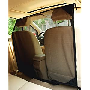 NAC&ZAC SUV Pet Barrier - High See Through Net Vehicle Pet Barrier to Keep Dogs and Pet Hair Out of Front Seat 88