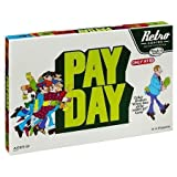 Hasbro Retro Series Payday , 1975 Edition – Where Does All The Money Go, The Game of Handling Finances – Ideal Board Games for Families and Game Nights Collectable Version
