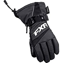 NEW FXR-SNOW HELIX RACE YOUTH WATERPROOF GLOVES, BLACK, LARGE/LG