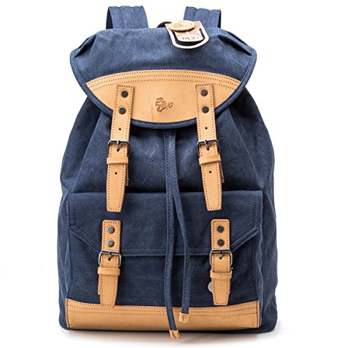Bag Wind Student Canvas Backpack Men Shoulder College Women And Blue qFxBn8qZ4A