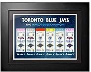 Toronto Blue Jays Ticket to History 12x16 Frame 1992