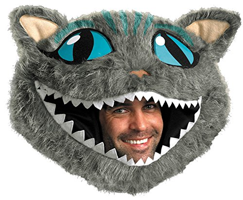 Halloween Mask- Cheshire Cat Headpiece Adult -Scary Mask - Cheshire Cat Mask