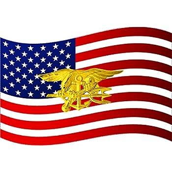 Amazon 4 Pack Usn Us Navy United States Patriotic Military Seal
