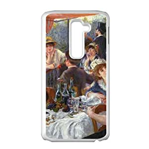 LG G2 Cell Phone Case White The Luncheon of the Boating Party Q1U3JH